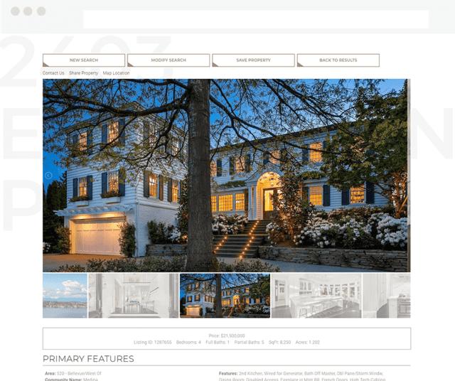 christine kipp squarespace idx broker website real estate