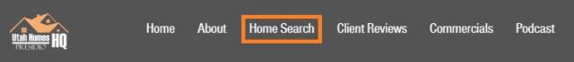Utah Homes HQ Menu