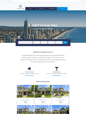 Sweet Home Pro WordPress IDX Real Estate Theme Website Setup