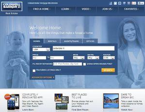 Coldwell-Banker-home-page Coldwell Banker home page