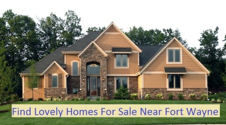 Foreclosed homes for sale near Fort Wayne Indiana.