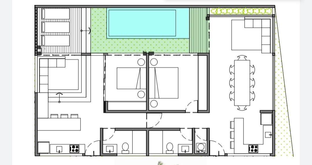 Pool Garden House