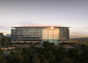 Rendering of Capital Ridge office project in Austin.