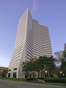 Five Post Oak Park, a 28-story office tower in Houston.