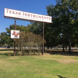 The 192-acre Texas Instruments site on the Houston's Southwest Freeway is being redeveloped. Photo by Ralph Bivins, Realty News Report.
