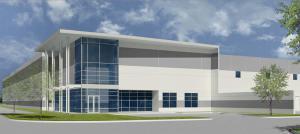 Rendering of Avera's Park161 distribution project in Dallas.