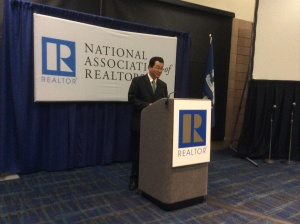 Lawrence Yun, chief economist for the National Association of Realtors, says Houston will outpace the nation in 2015. Photo by Ralph Bivins.