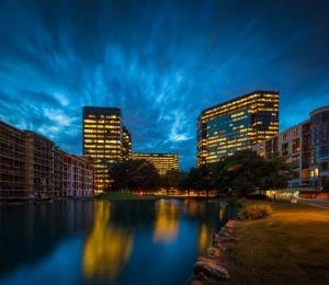 The Lakes of Post Oak development in Houston.