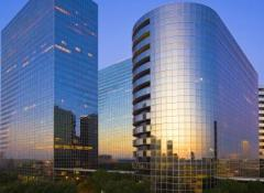 Greenway Plaza, a 10-building office complex in Houston, is a major holding of Cousins Properties.