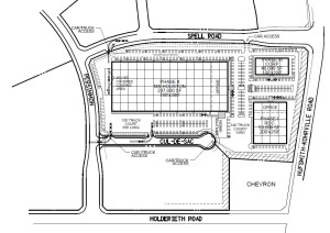 Packers Plus site plan