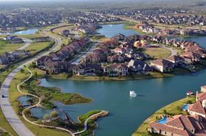 Riverstone community in Houston.