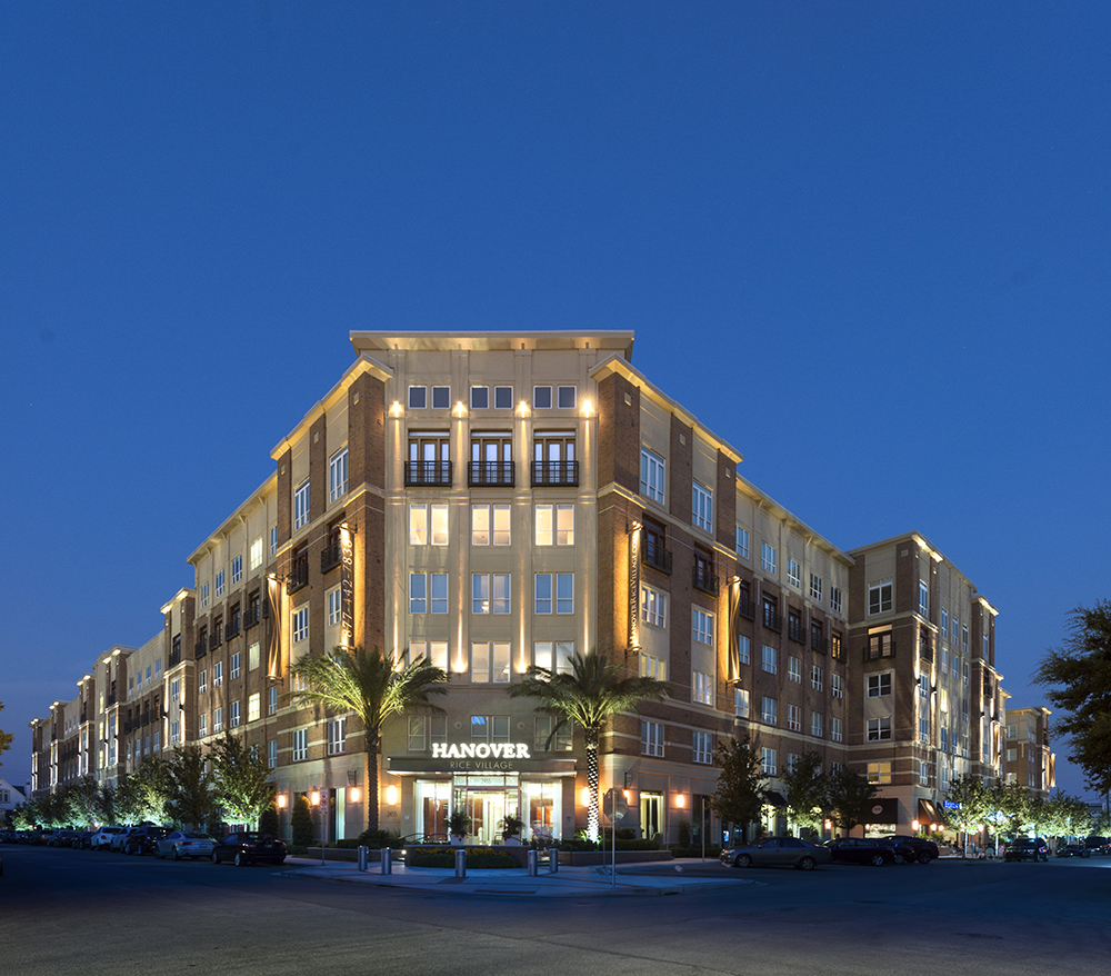 ... Apartment Project Near Rice University. Hanover Rice Village