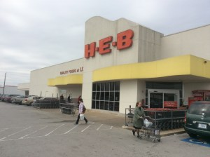 This H-E-B store in Bellaire will be replaced with the grocer's first two-level store in the Houston area. Photo Credit: Ralph Bivins, Realty News Report.