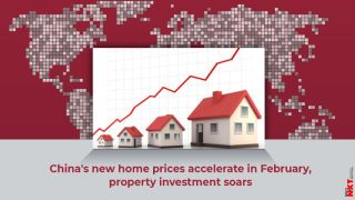 China's new home prices