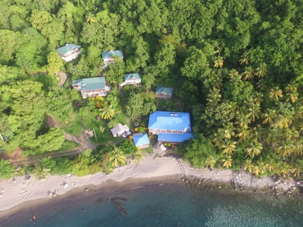 beach front land for sale in soufriere