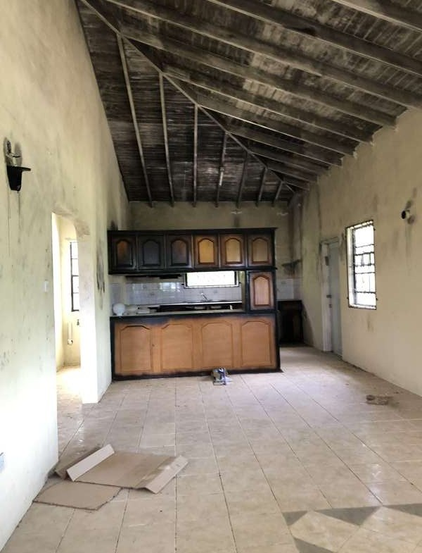 kitchen Fixer Upper House For Sale St Lucia, Mon Repos Micoud