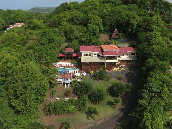 10 bedroom Villa / Hotel at Cap Estate St Lucia