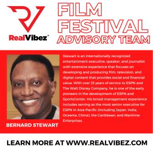 Bernard Stewart Joins RealVibez Film Festival Advisory Team