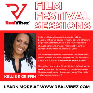 Kellie R Griffin to Offer Writing Tips for RealVibez Film Festival
