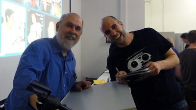 David Bordwell und Alexander Gajic in Mainz