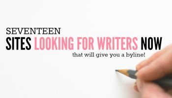 make money writing for online writing jobs 17 sites looking for writers now byline included