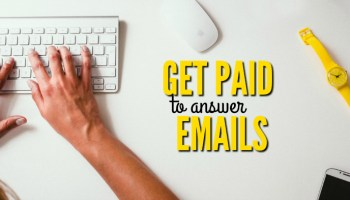 can you really get paid to answer emails from home. Resume Example. Resume CV Cover Letter