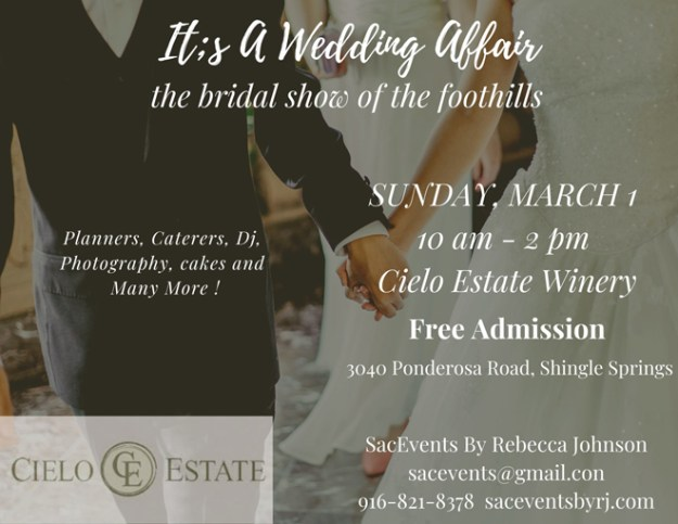 Sacramento Bridal Show | Northern California Wedding Show | Bridal Open House | Cameron Park Bridal Show