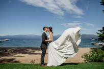 Tahoe Sacramento Wedding Photographer | Lake Side Wedding