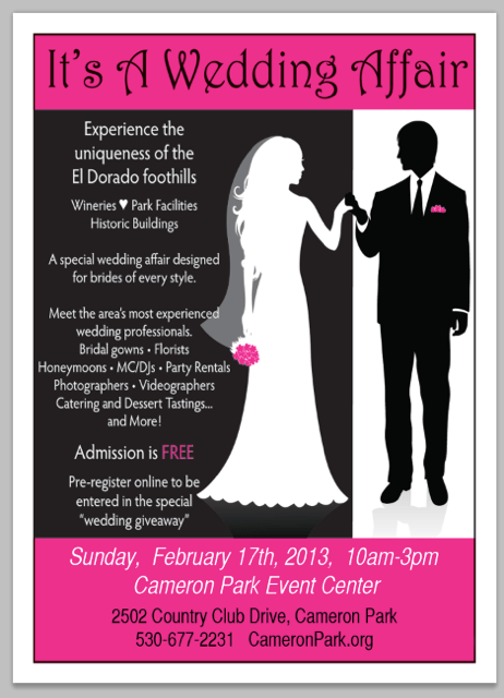 Reminder…Today's the Day for It's a Wedding Affair!