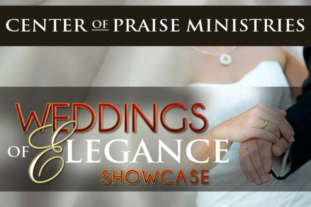Reminder…Today's the day for the Weddings of Elegance Showcase!