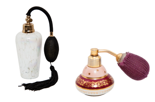 French Antique Perfume Bottles