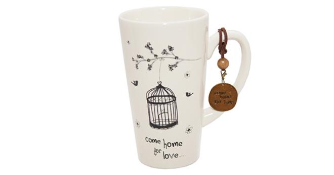 Natural Love Come for Love Ceramic Mug
