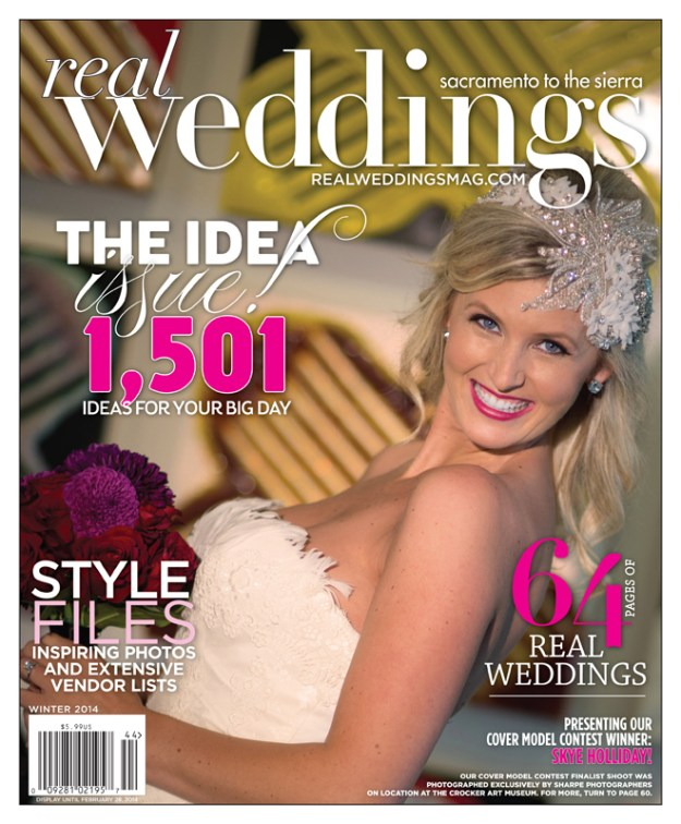 Real Weddings Magazine - Winter 2014 Cover