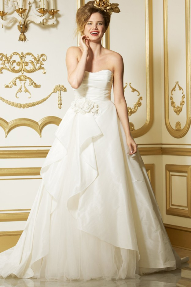 Real Weddings Dazzling Dresses: Pretty Lovely