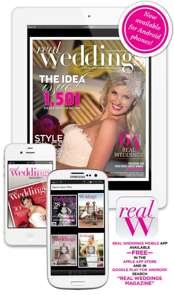 Welcome to the Real Weddings Magazine App!
