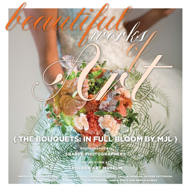 Beautiful Works of Art: The Bouquets {In Full Bloom by MJL}