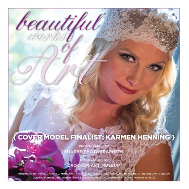 Real Weddings Cover Model Finalist: Karmen Henning {Beautiful Works of Art}