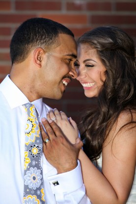 Gina & BJ by Pyxie Studios on www.realweddingsmag.com 0