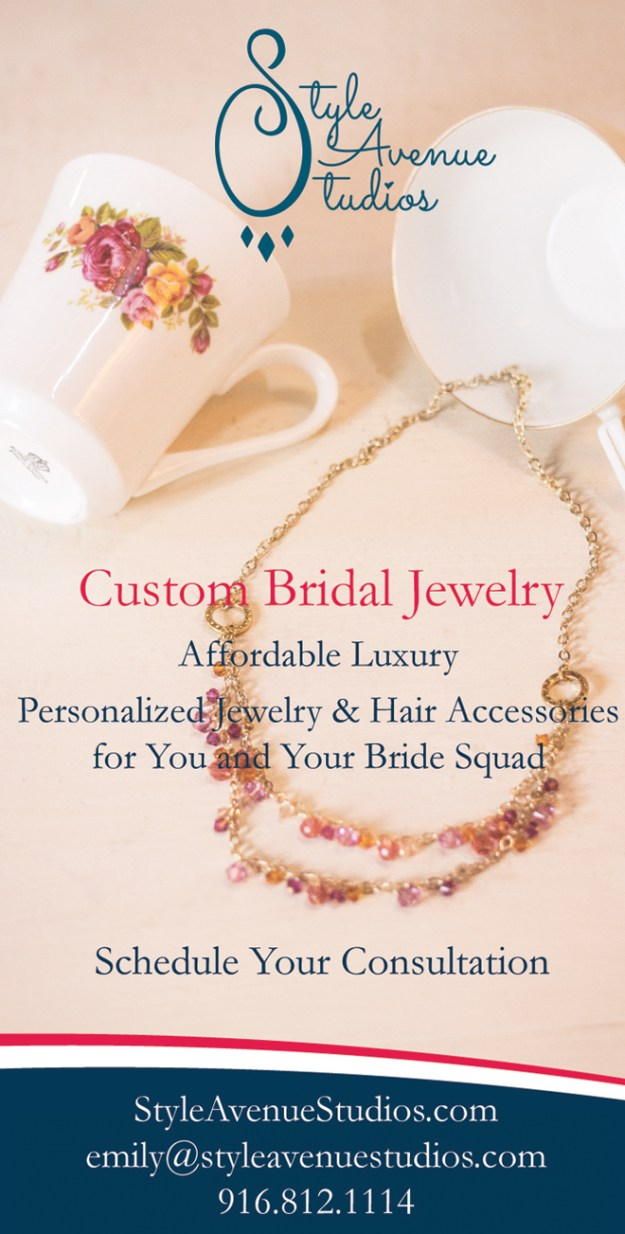 Custom Bridal Jewelry | Sacramento Wedding Jewelry