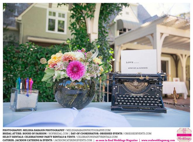 Sacramento Wedding Decor