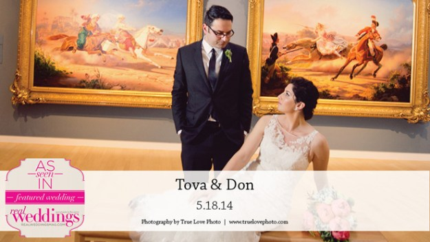 Sacramento Weddings:  Tova & Don {Featured Real Wedding from the Winter/Spring 2015 Issue of Real Weddings Magazine}