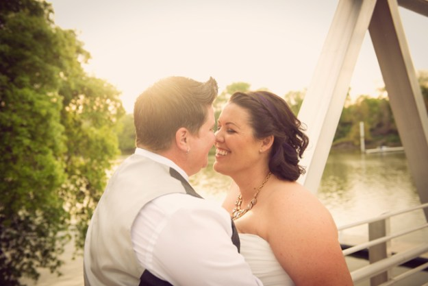 Kelly and Erin by True Love Photo on www.realweddingsmag.com 11A