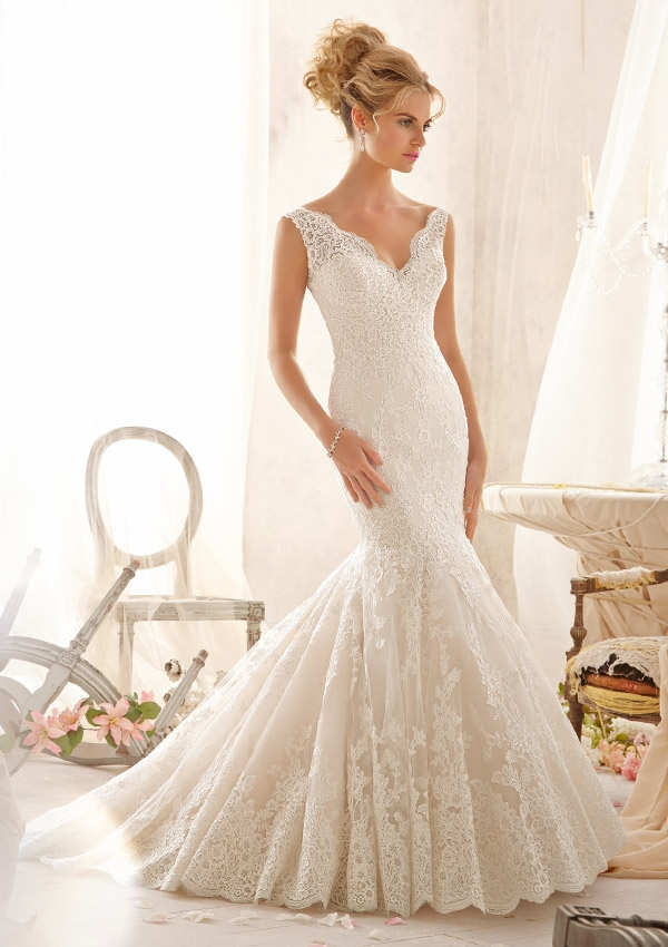 Sacramento Wedding Gowns: Dazzling Dresses {Mermaid at Heart}