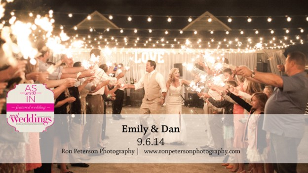 Sacramento Wedding Inspiration: Emily & Dan {from the Summer/Fall 2015 Issue of Real Weddings Magazine}