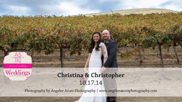 Sacramento Wedding Inspiration: Christina & Christopher {from the Summer/Fall 2015 Issue of Real Weddings Magazine}