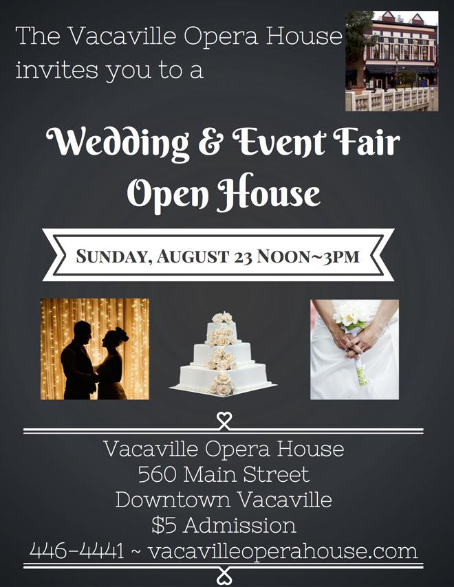 Vacaville Opera House_Vacaville Wedding Event
