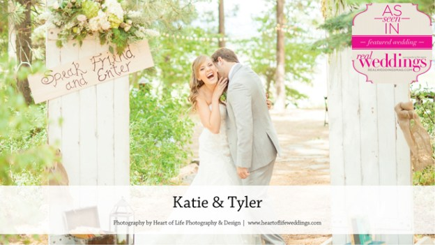Sacramento Wedding Inspiration: Katie & Tyler {from the Winter/Spring 2016 Issue of Real Weddings Magazine}