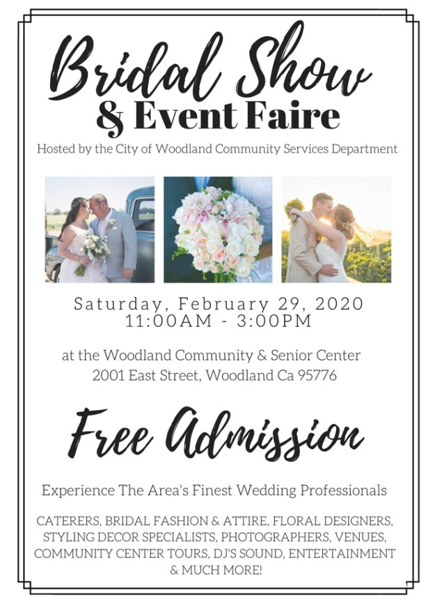 Sacramento Bridal Show | Northern California Wedding Show | Bridal Open House | Woodland Bridal Show