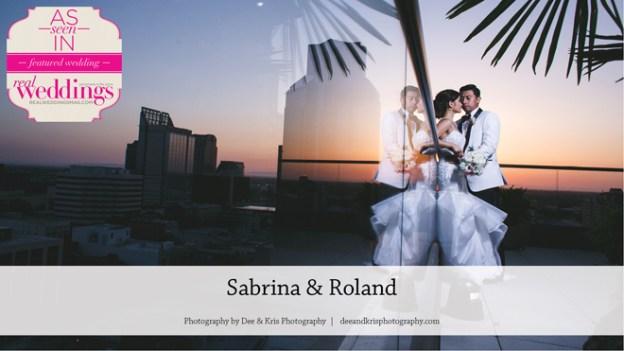 Sacramento Wedding Inspiration: Sabrina & Roland {From the Summer/Fall 2016 Issue of Real Weddings Magazine}