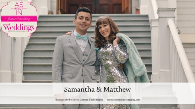 Sacramento Wedding Inspiration: Samantha & Matthew {From the Summer/Fall 2016 Issue of Real Weddings Magazine}